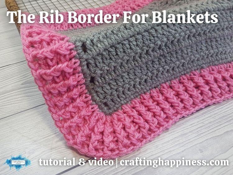 FB BLOG POSTER - Crochet Rib Border