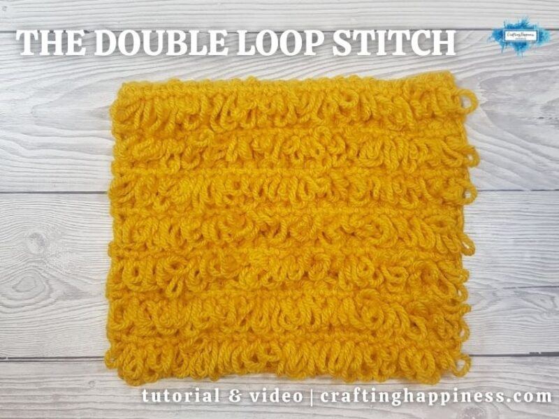 FB BLOG POSTER - The Double Loop Stitch