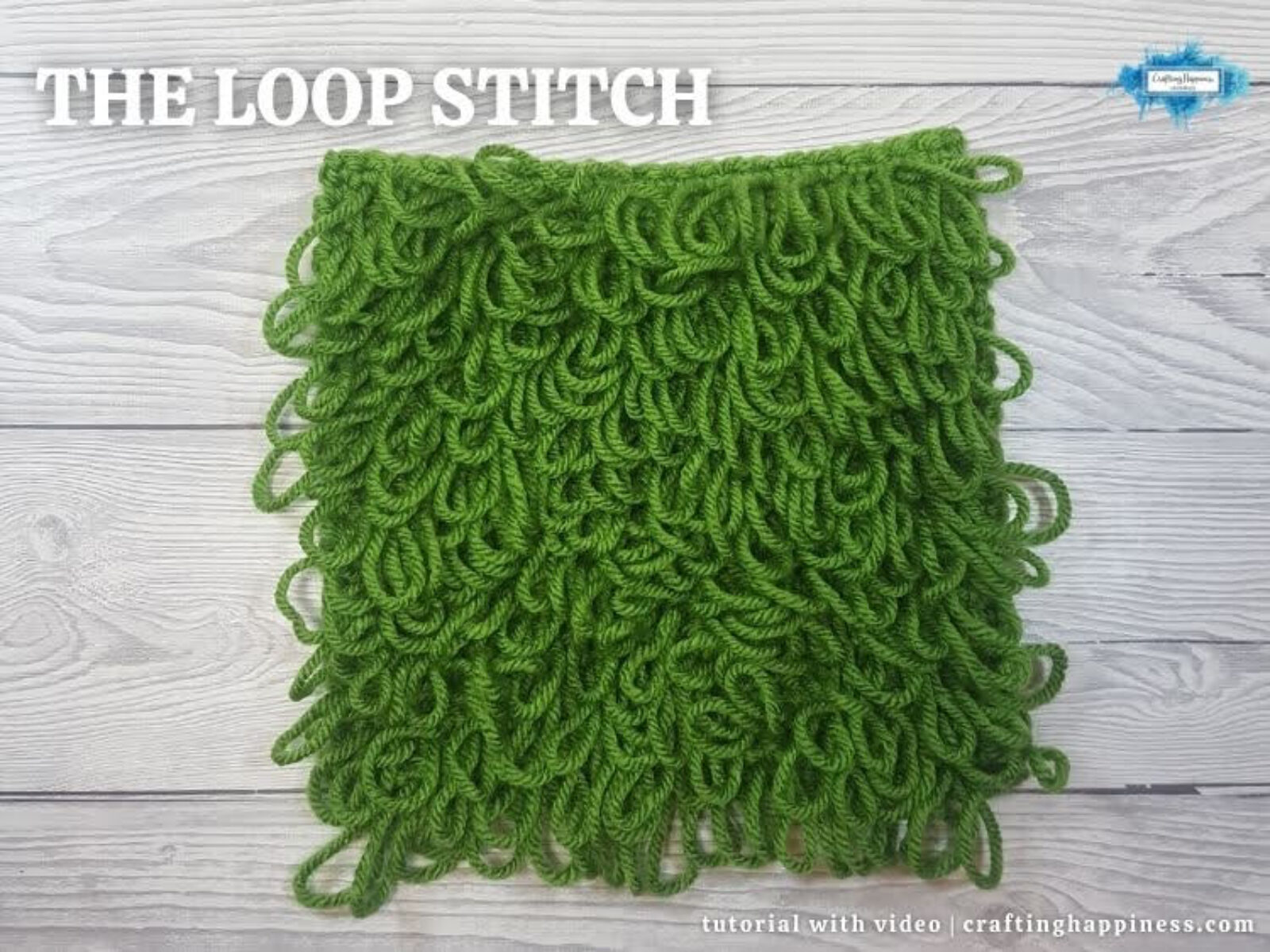 FB BLOG POSTER - The Loop Stitch