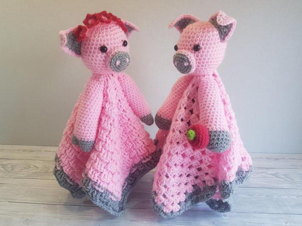 Pip & Petunia Pig Loveys Member Photo