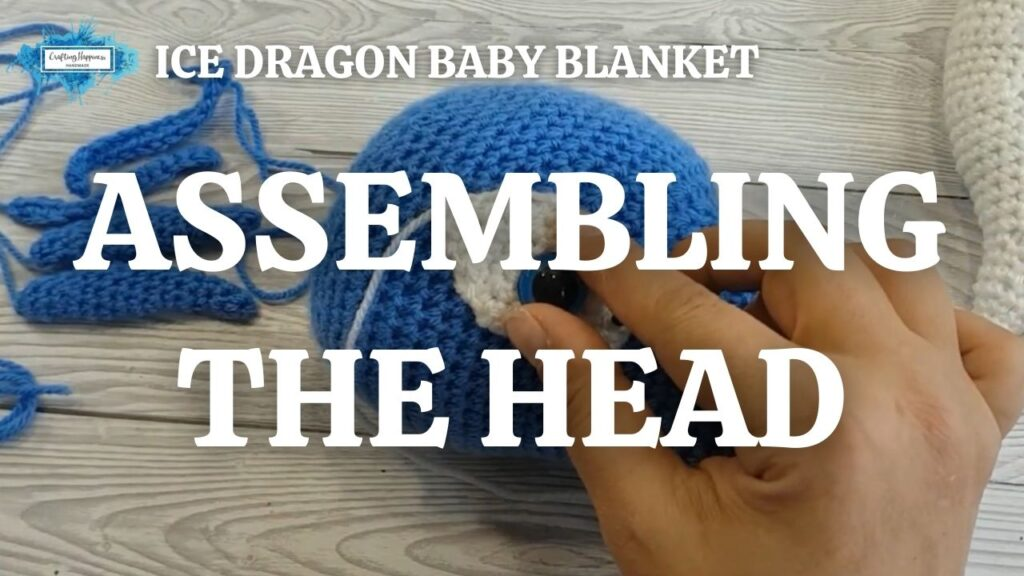 Exclusive Ice Dragon Baby Blanket - Assembling The Head Youtube Thumbnail