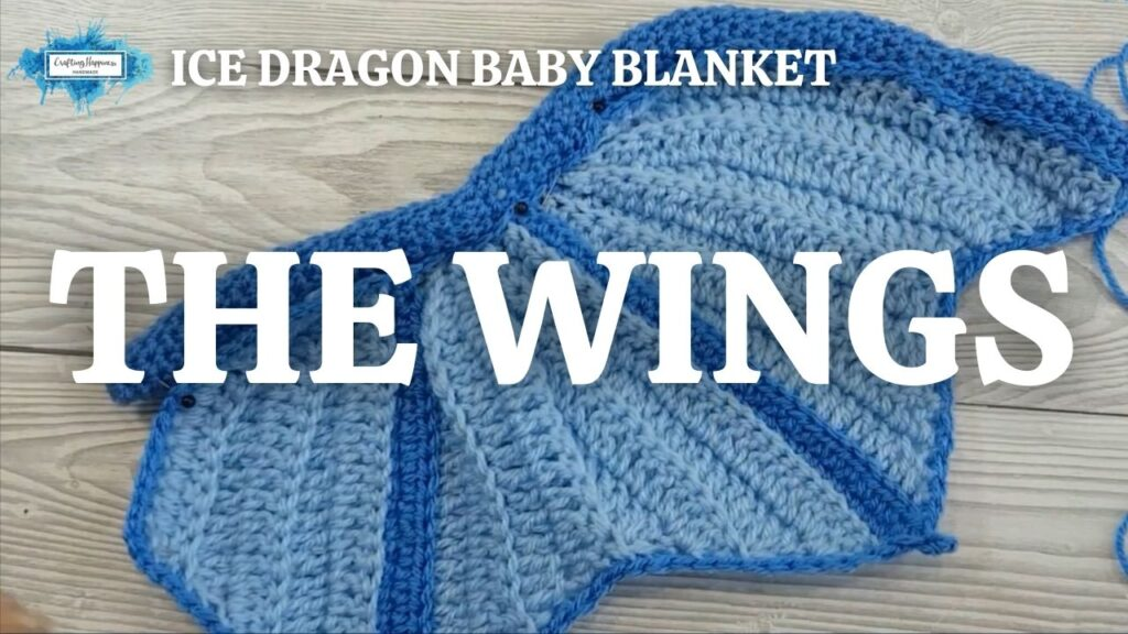 Exclusive Ice Dragon Baby Blanket - The Wings Youtube Thumbnail