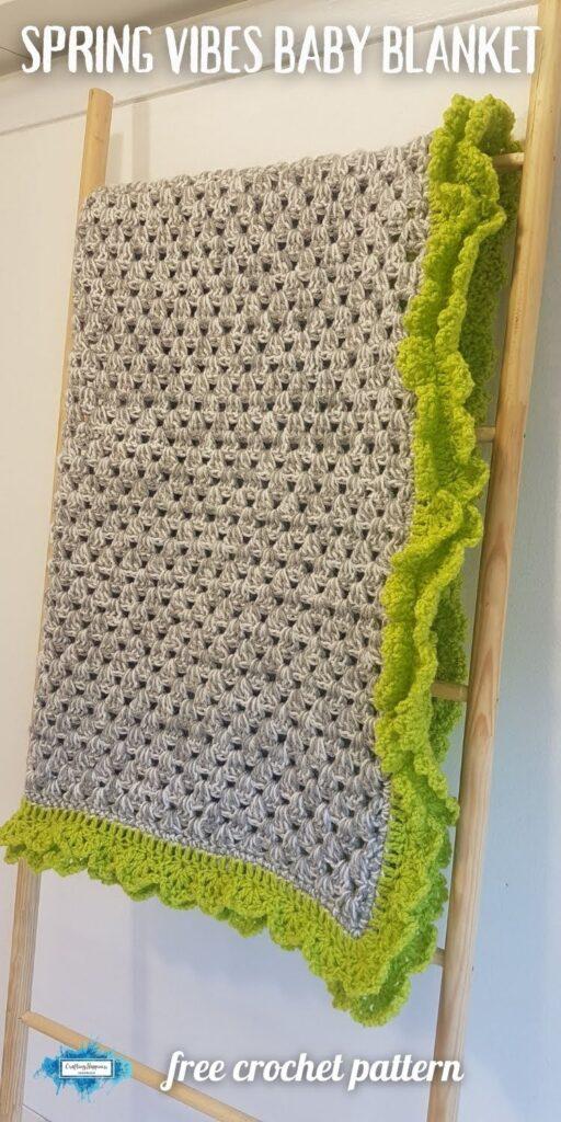 BLOG POSTER PIN 1 - Spring Vibes Baby Blanket