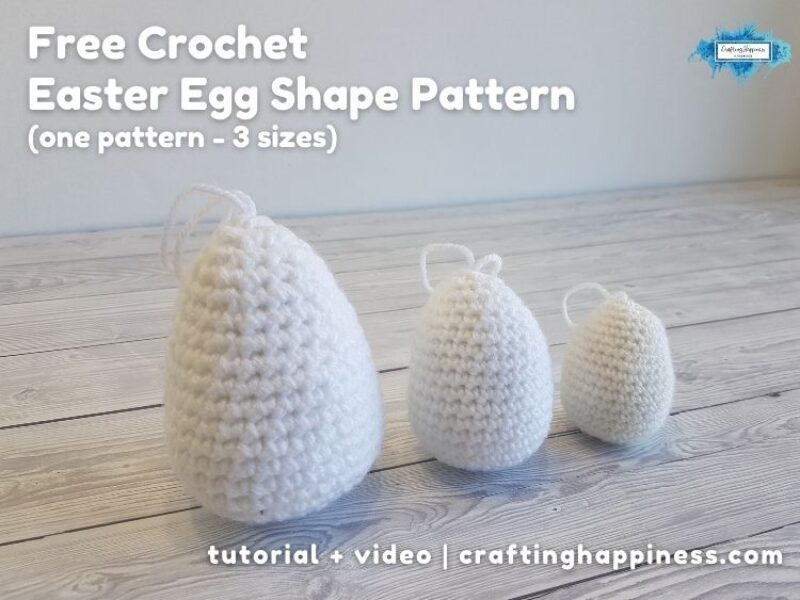 FB BLOG POSTER - Easter Egg Shape Pattern
