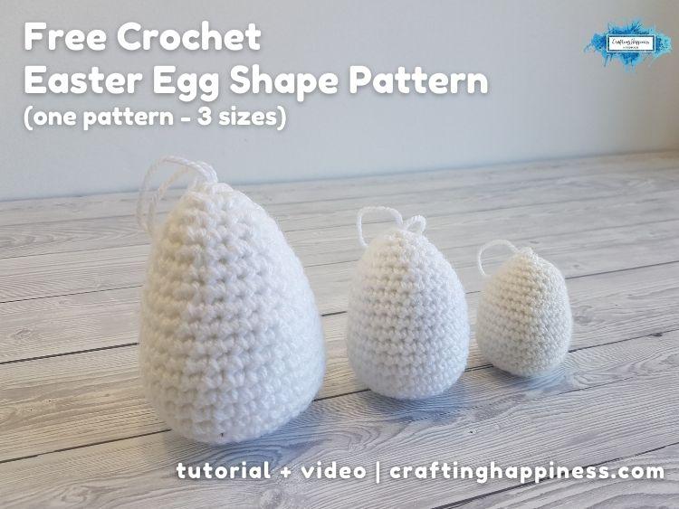 FB BLOG POSTER - Easter Egg Shape Pattern