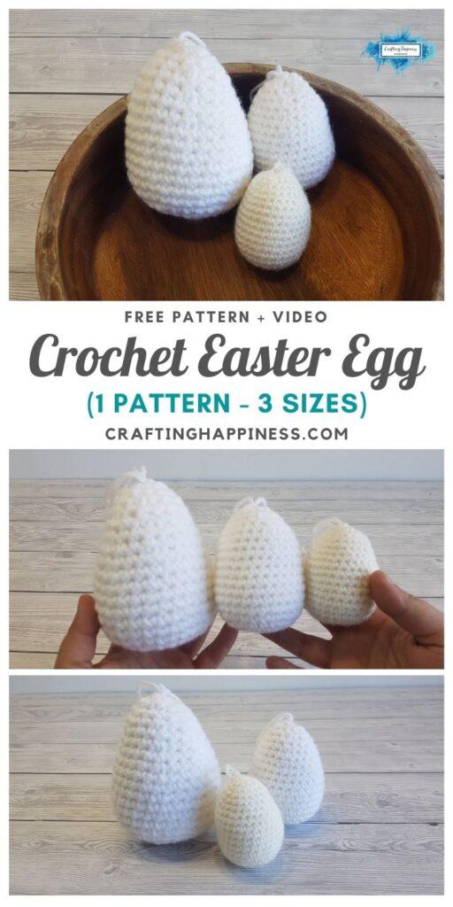 MAIN PIN BLOG POSTER - Easter Egg Shape Pattern 3 Sizes