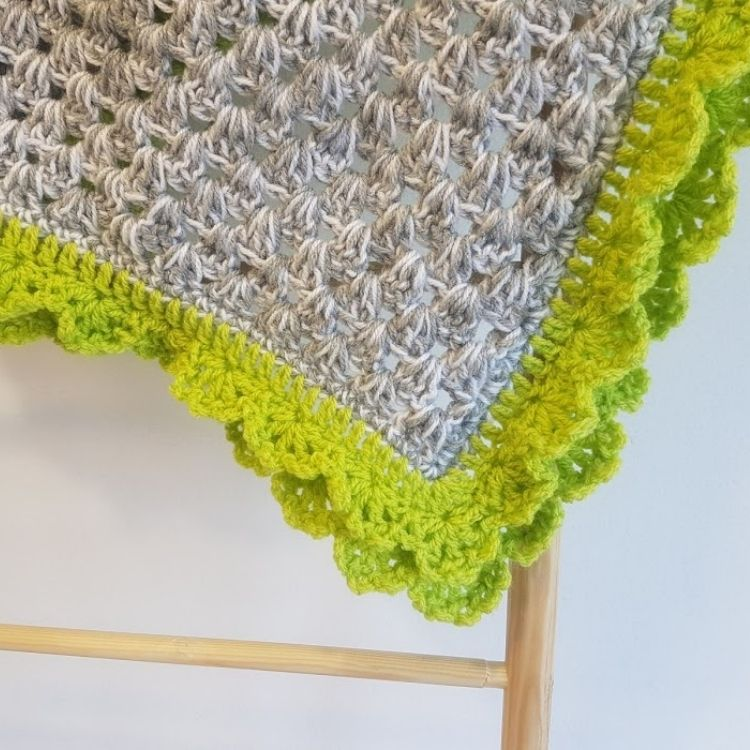 Spring Vibes Baby Blanket Crochet Pattern Crafting Happiness BLOG SQUARE