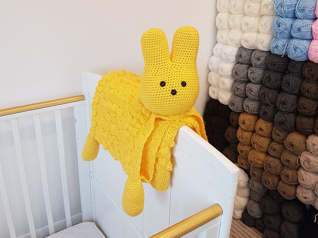 SHOP PHOTO 1 Easter Peep Bunny Baby Blanket