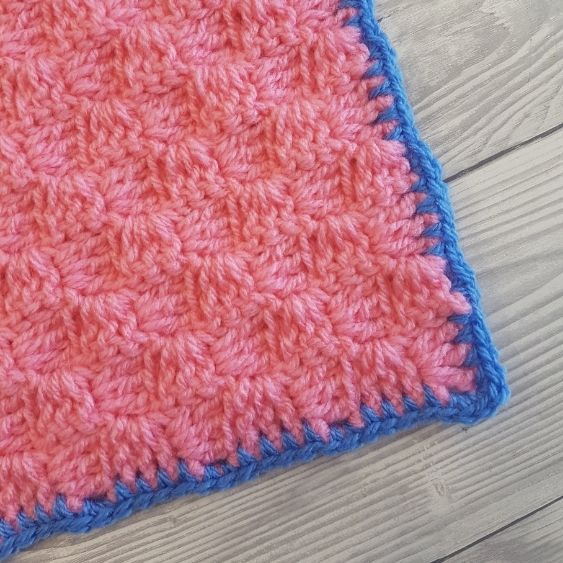 BLOG PHOTO 1 - Base Border For C2C Blankets Crafting Happiness