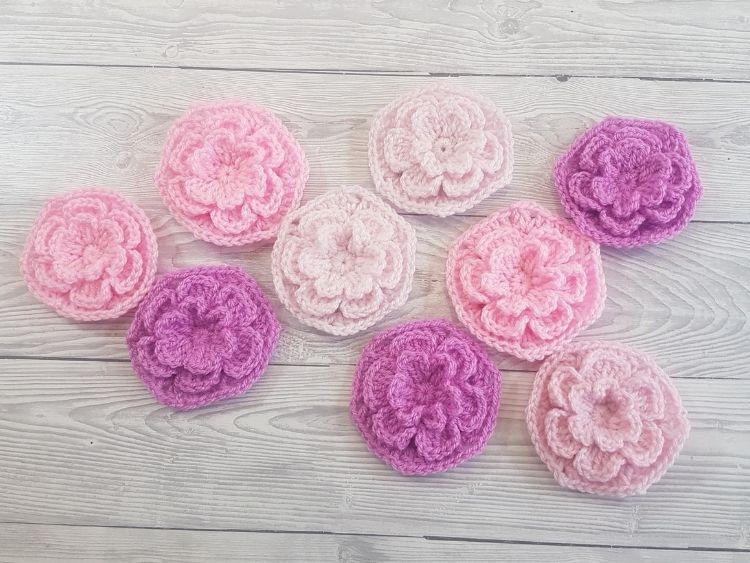BLOG POST PHOTO - Simple Crochet Flower Hexagon