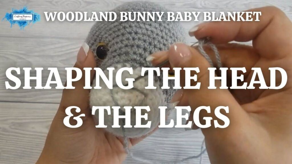 Exclusive Llama Baby Blanket - Shaping The Head & The Legs Youtube Thumbnail
