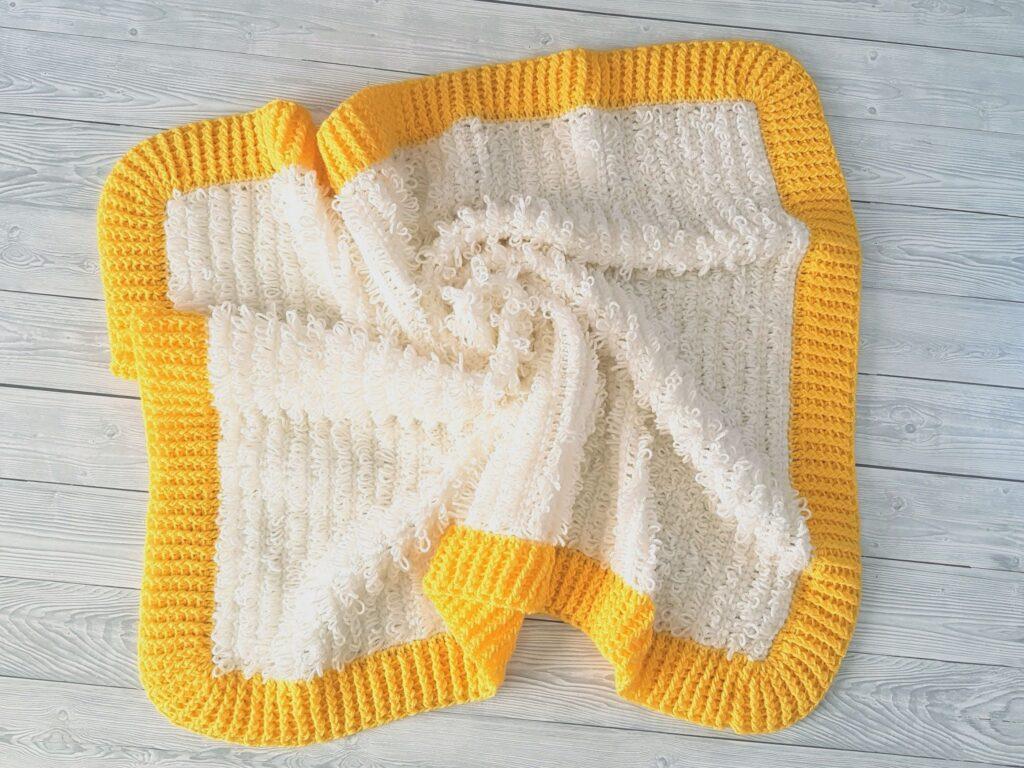 Loop & Ridges Baby Blanket SHOP PHOTO 8