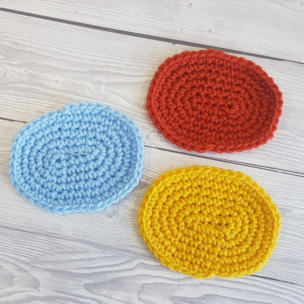 BLOG POST PHOTO 2 - How To Crochet An Oval Crafting Happiness