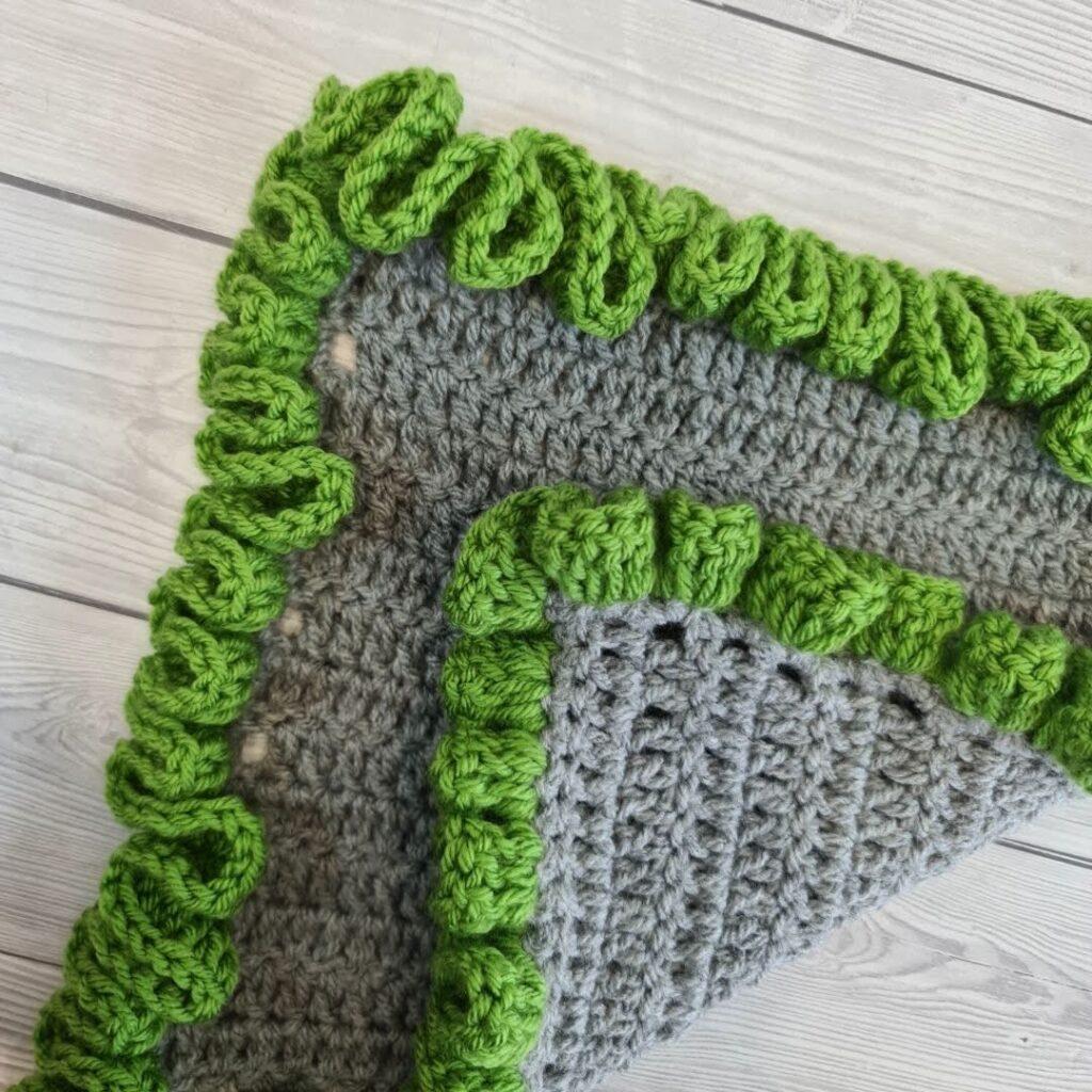 BLOG PHOTO 1 - Crochet Ruffled Edge Border Crafting Happiness
