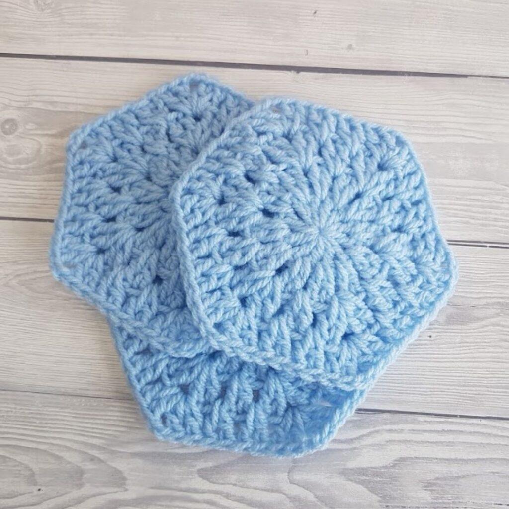 BLOG PHOTO 3 - Crochet Granny Hexagon Crafting Happiness