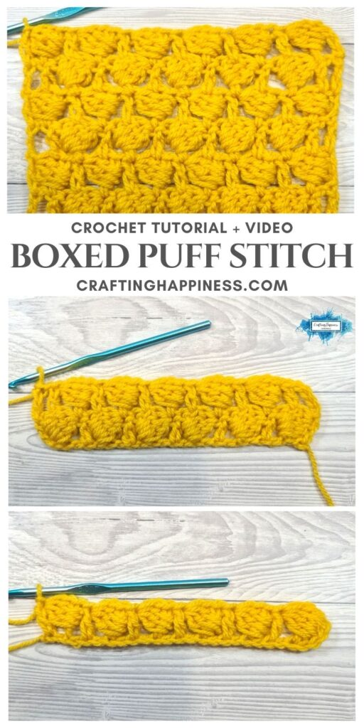 MAIN PIN BLOG POSTER Boxed Puff Stitch Crafting Happiness
